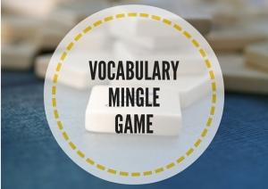 VOCABULARY MINGLE GAME